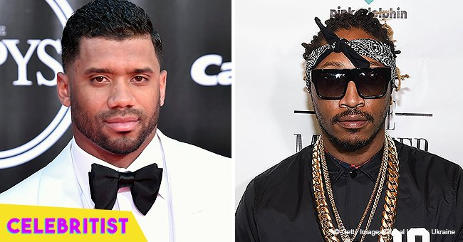 Russell Wilson slammed after sharing picture with Ciara and Future's son on 'guys night' out