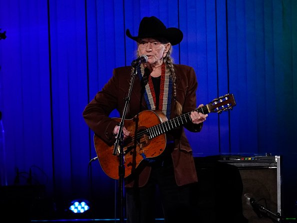 Willie Nelson at the Bridgestone Arena on November 13, 2019 in Nashville, Tennessee.   Photo: Getty Images