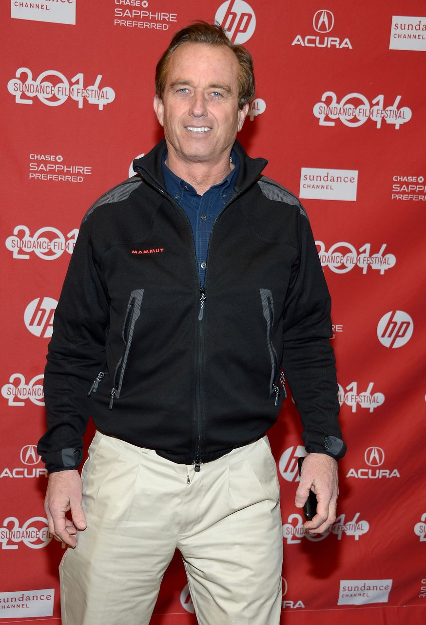 """Robert F. Kennedy, Jr during the """"God's Pocket"""" premiere at Eccles Center Theatre during the 2014 Sundance Film Festival on January 17, 2014 in Park City, Utah. 