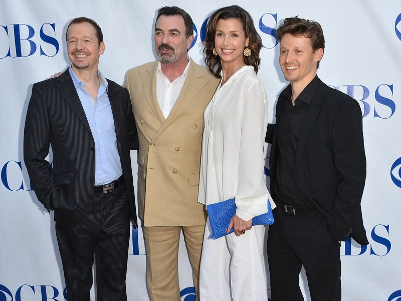 Donnie Wahlberg, Tom Selleck, Bridget Moynahan and Will Estes on June 5, 2012 in North Hollywood, California | Photo: Getty Images