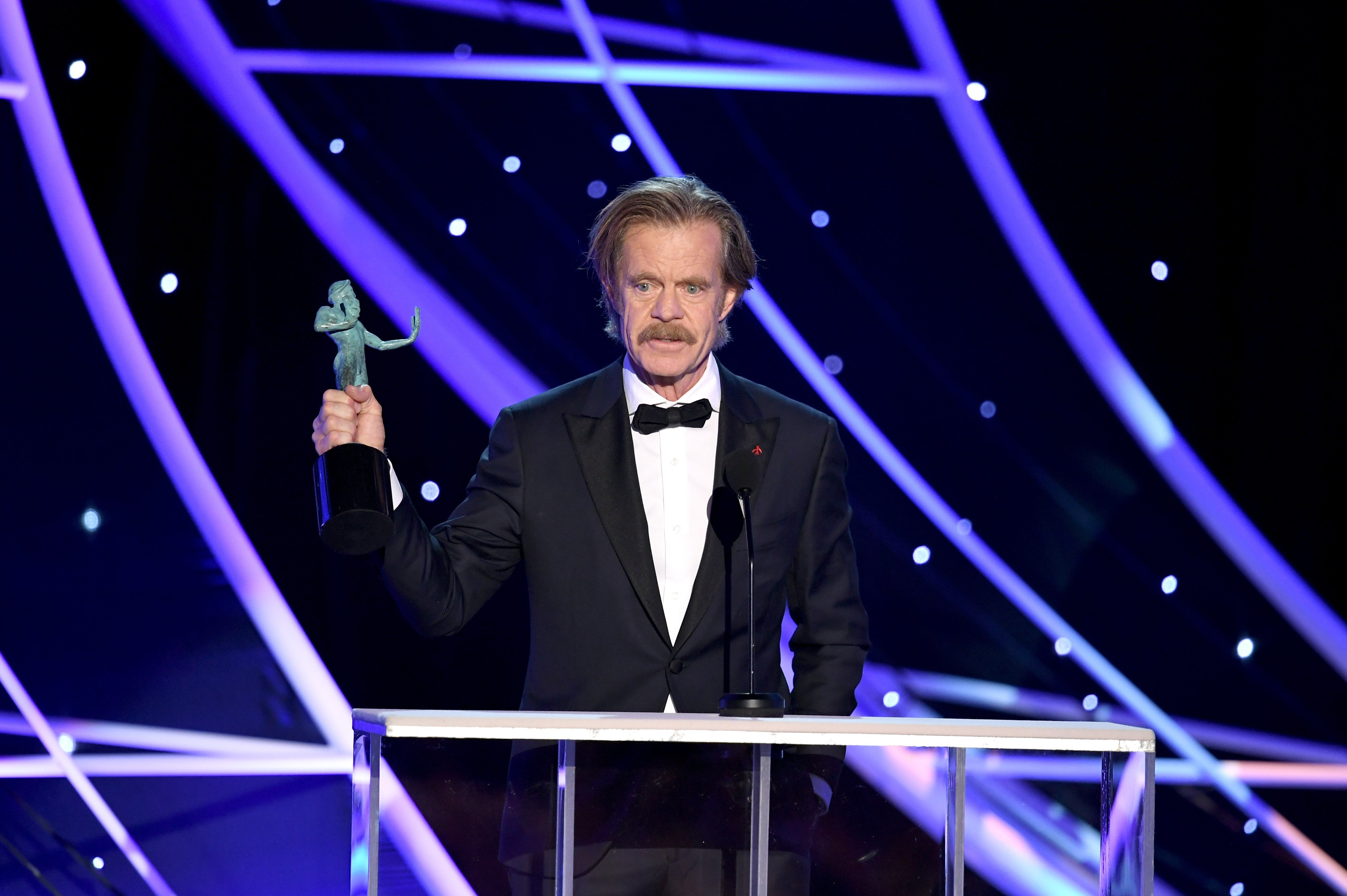 William H. Macy at the 24th Annual Screen Actors Guild Awards  on January 21, 2018  | Photo: GettyImages