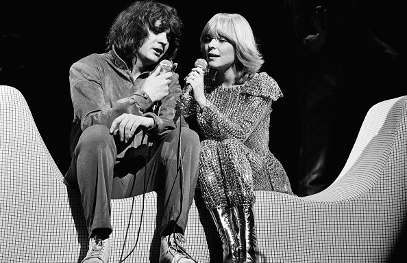 France Gall avec Daniel Balavoine. | Photo : Getty Images
