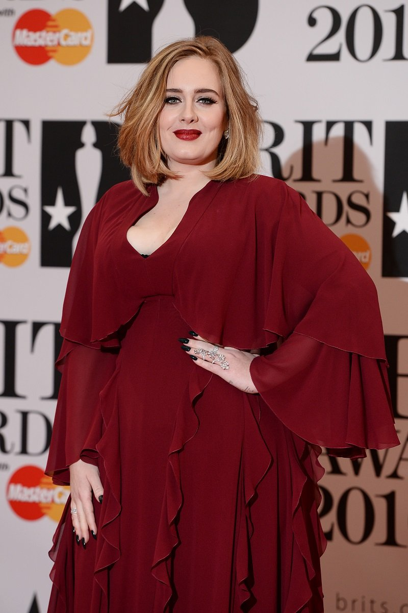 Adele on February 24, 2016 in London, England | Photo: Getty Images