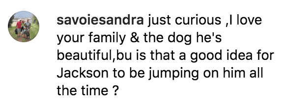 Fan show's concern about Roloff family dog | Source: instagram.com/toriroloff