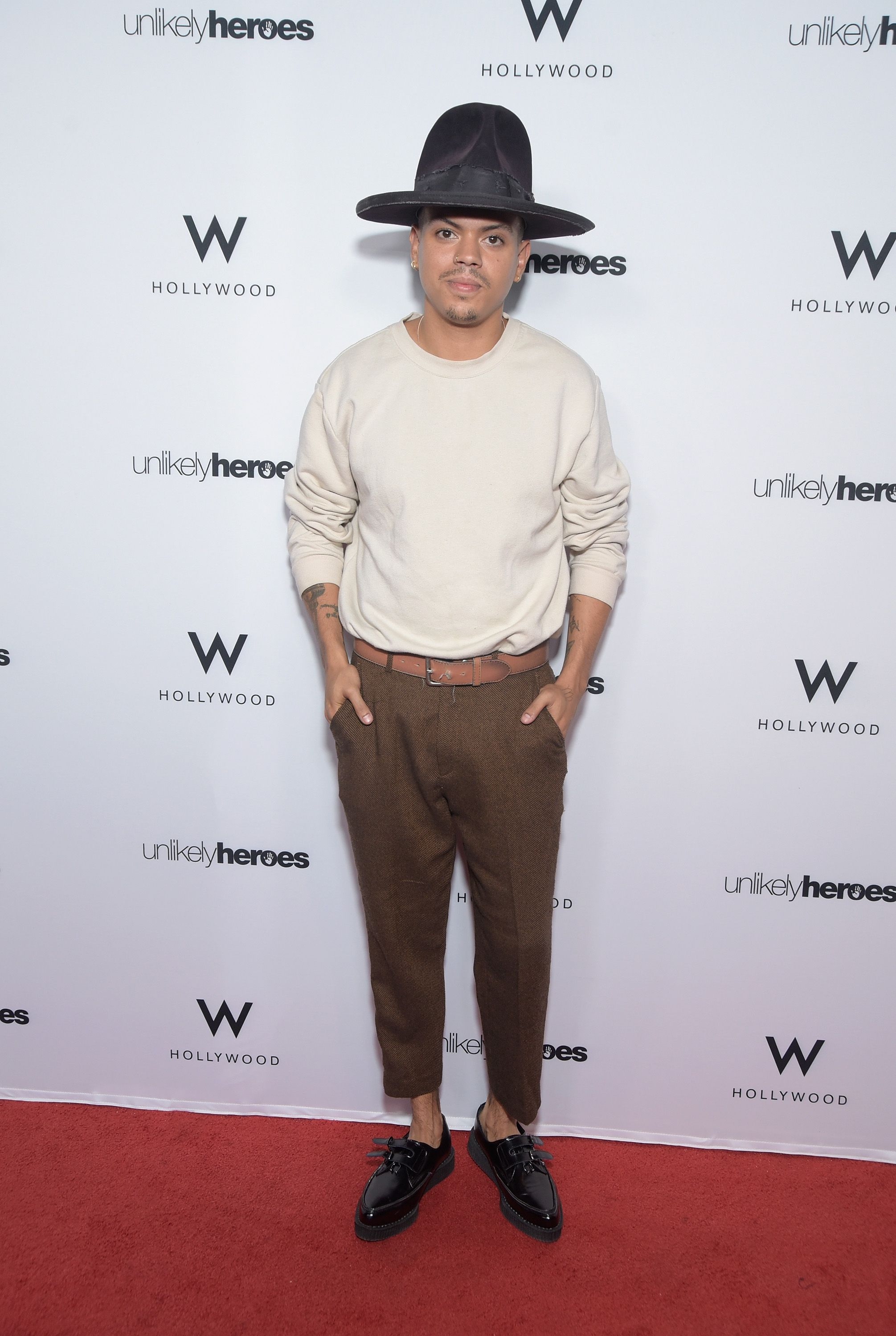 """Evan Ross during """"Nights Of Freedom LA"""" hosted by Unlikely Heroes at W Hollywood on June 21, 2018. 