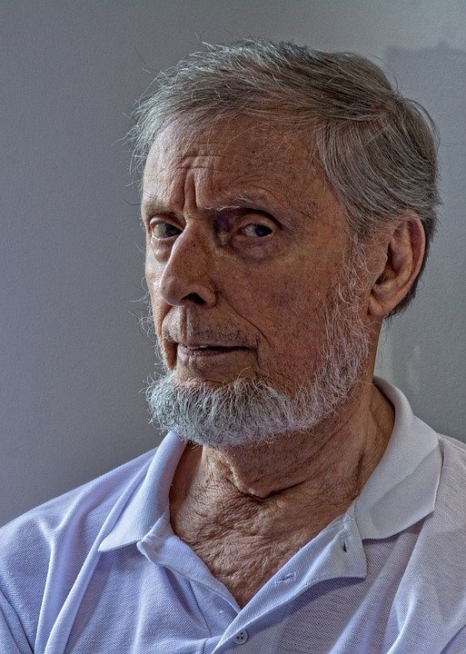 Porträt eines älteren Mannes - Quelle: Pixabay