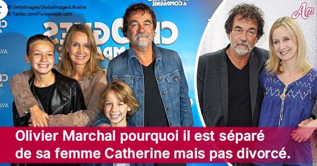 Pourquoi Olivier Marchal est séparé de son épouse Catherine mais pas divorcé