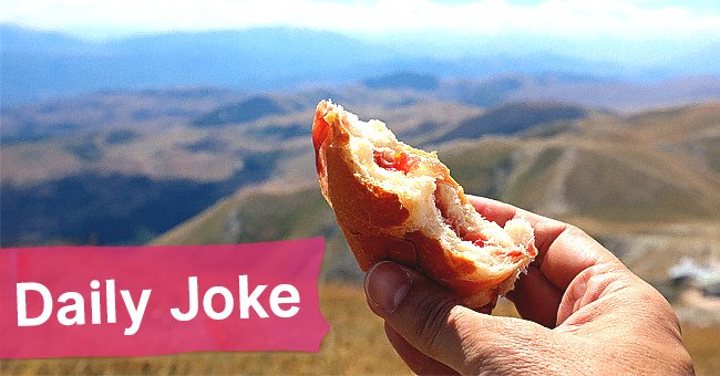 Daily Joke: Three Men with Three Sandwiches on a Cliff