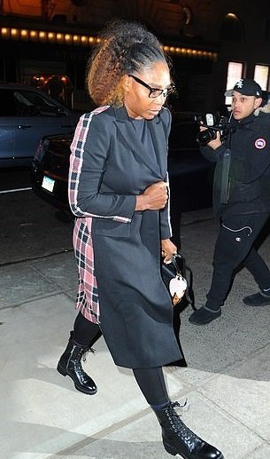 Serena Williams in New York City on February 20, 2019 | Source: Daily Mail