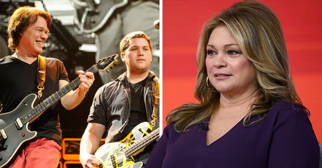 Eddie Van Halen's Ex Valerie Bertinelli Is Consoling Their Only Son Wolf after His Dad's Death