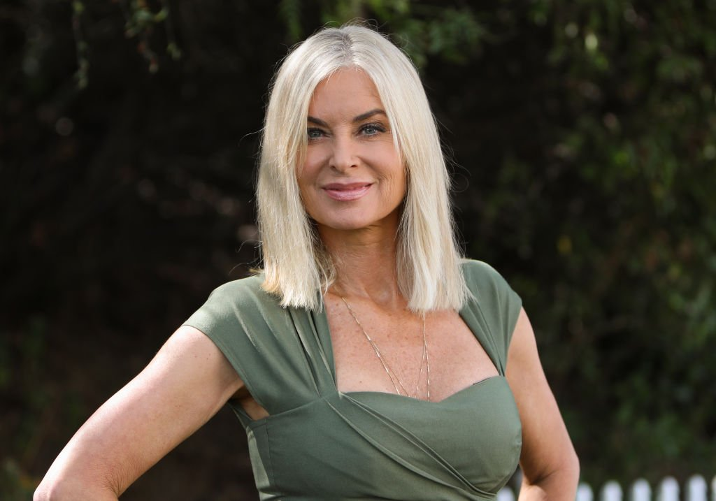 """Eileen Davidson at Hallmark Channel's """"Home & Family"""" at Universal Studios Hollywood. 