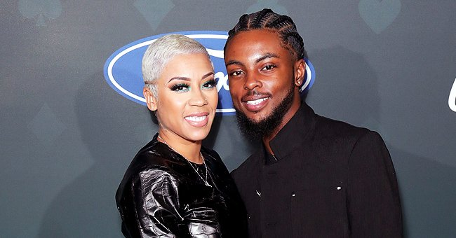 Keyshia Cole's Boyfriend Niko Khale and Their Baby Boy Tobias Pose in Adorable New Photo