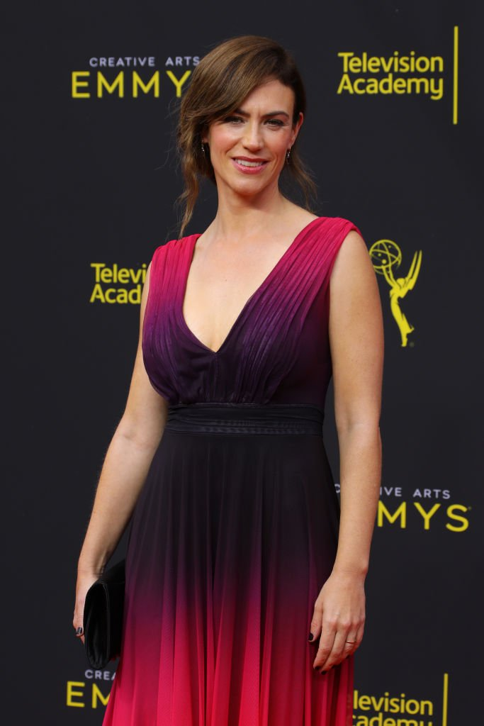 Maggie Siff at the 2019 Creative Arts Emmy Awards on September 15, 2019 | Photo: Getty Images