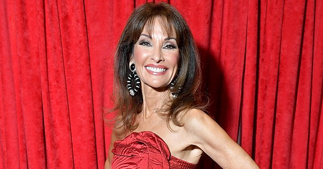 Susan Lucci Looks Nothing Her Age While Posing with Gorgeous Tulips in a New Photo