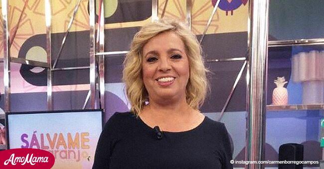 """Carmen Borrego vuelve inesperadamente detrás de las cámaras del querido programa """"Sálvame"""""""