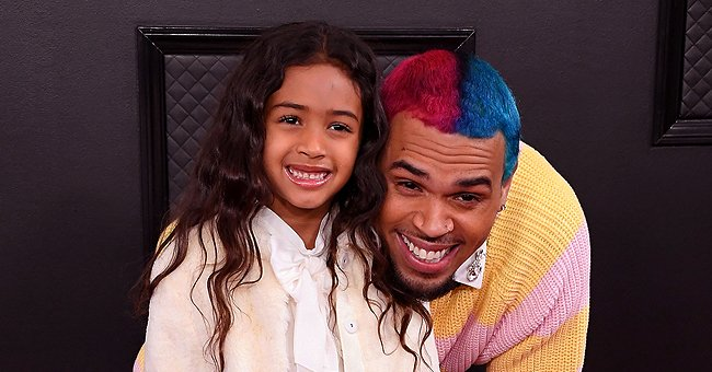 Chris Brown's Daughter Royalty and Her Friends Enjoy Spa Day Dressed in Pink Silk Robes for a Birthday Celebration