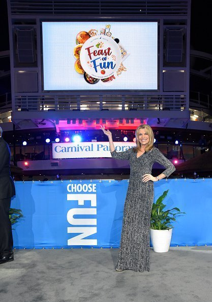 Vanna White attends the official naming ceremony for the new cruise ship Carnival Panorama at Long Beach Terminal in Long Beach, California | Photo: Getty Images