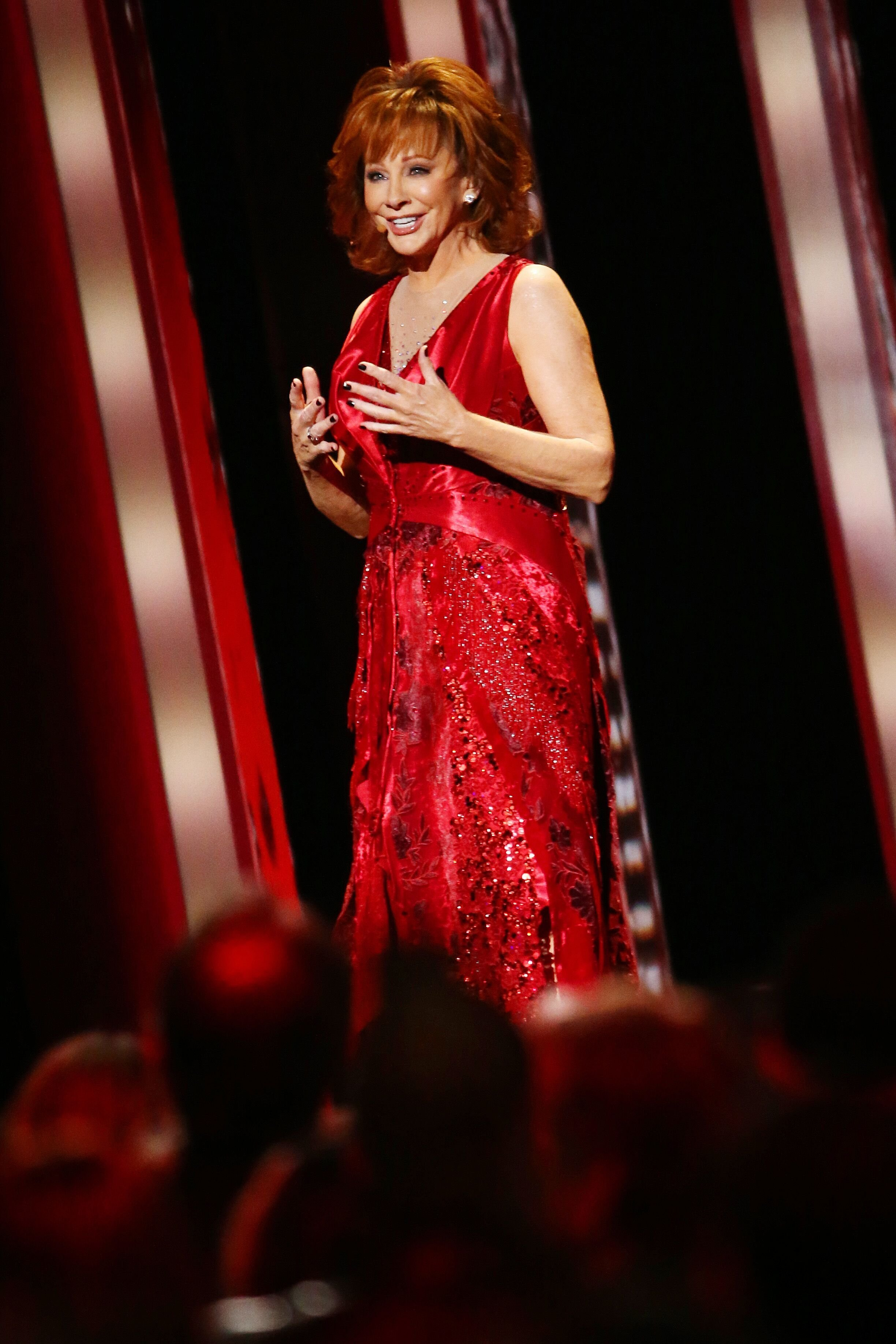 Reba McEntire performs onstage during the 53rd annual CMA Awards. | Source: Getty Images
