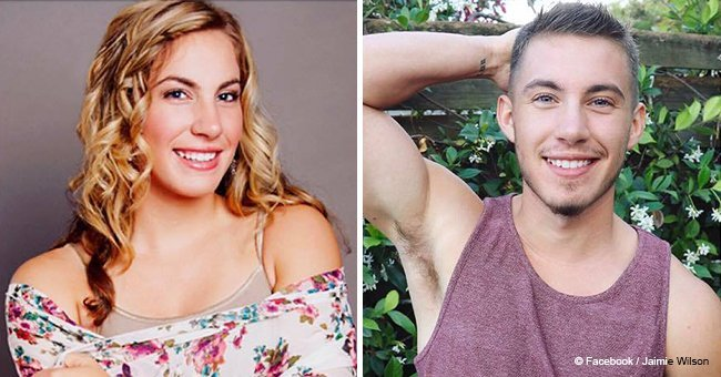 Transgender man Jaimie Wilson shared before-and-after photos