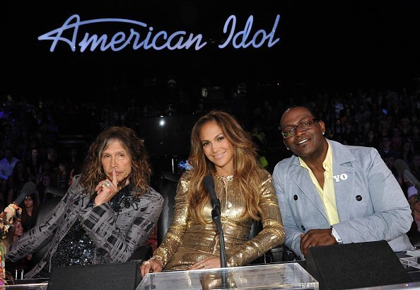 """Steven Tyler, Jennifer Lopez and Randy Jackson at FOX's """"American Idol"""" Season 11 Top 6 Live Performance Show 