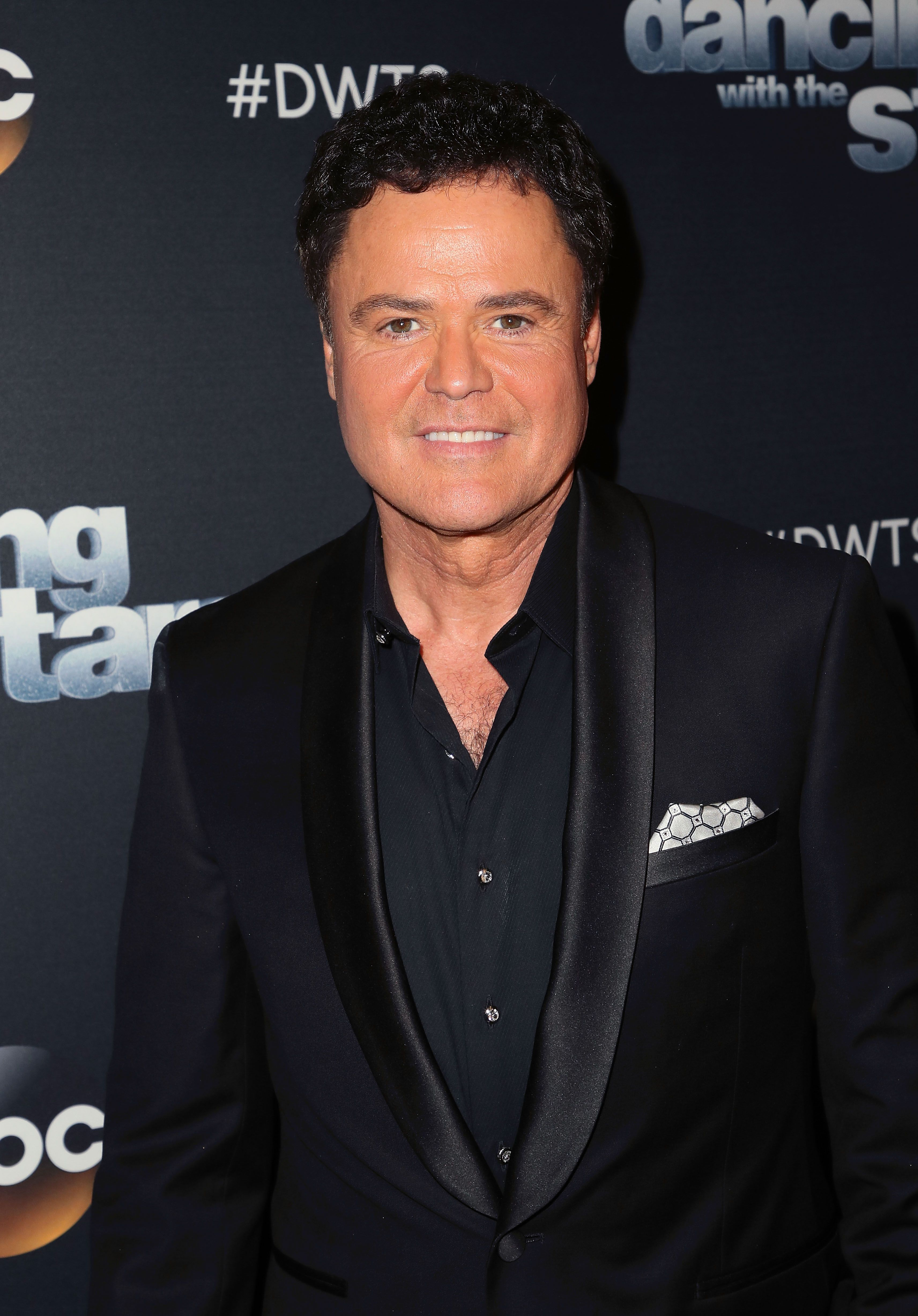 """Donny Osmond poses at """"Dancing with the Stars"""" Season 27 at CBS Televison City on October 2, 2018 in Los Angeles, California   Photo: Getty Images"""
