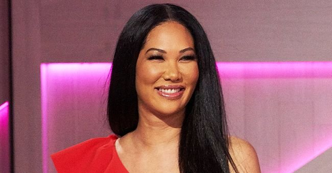 Kimora Lee Simmons' Daughter Flaunts Her Figure While Sunbathing in a Khaki Swimsuit in New Pic