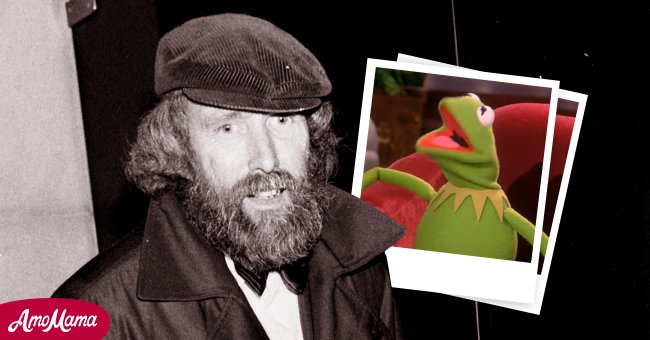 Jim Henson and an inset of his most celebrated character, Kermit the Frog   Source: Getty Images