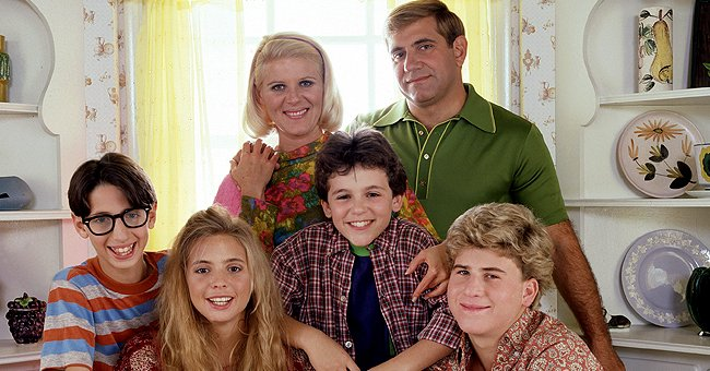 """The Arnold family and other characters onset of """"The Wonder Years."""" 