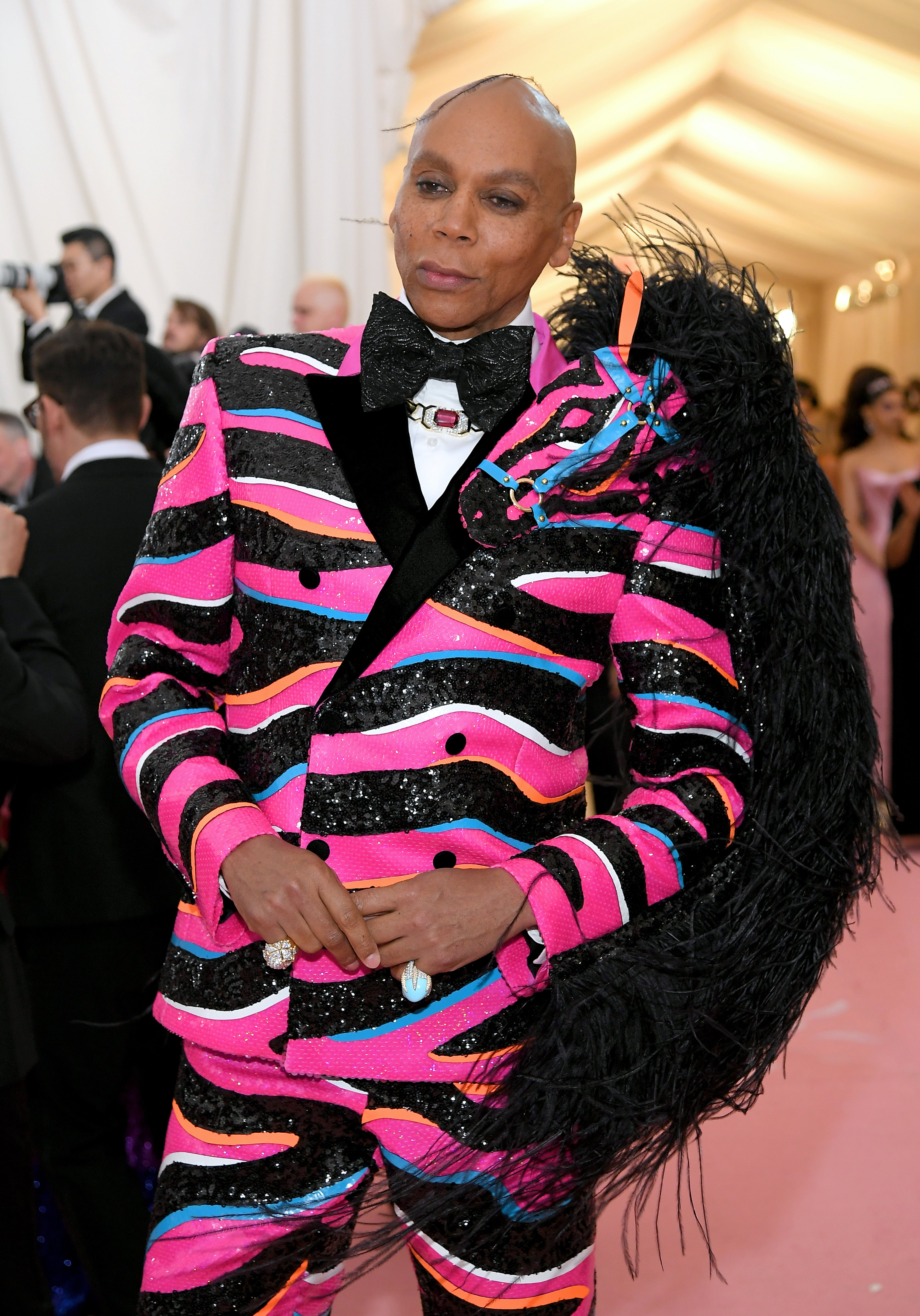 RuPaul pictured at the 2019 Met Gala in New York City.   Photo: Getty Images