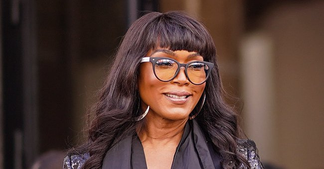 Angela Bassett Defies Her Age in a Sophisticated Circle-Printed Jumpsuit & Gorgeous Hairstyle