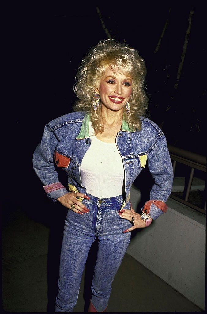 Dolly Parton in a photo uploaded on January 01, 1988 | Photo:Kevin Winter/DMI/The LIFE Picture Collection/Getty Images