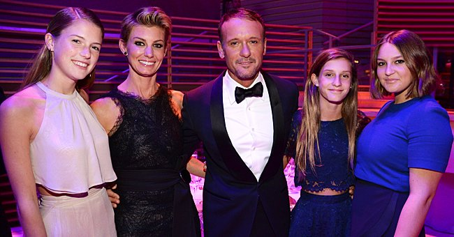 Faith Hill, Tim McGraw and their daughters, Maggie, Audrey and Gracie pictured at the TIME 100 Gala, TIME's 100 Most Influential People In The World, 2015, New York City.   Photo: Getty Images