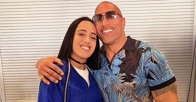 Dwayne 'the Rock' Johnson Is 'Very Proud' in Pics as Daughter Simone Graduates