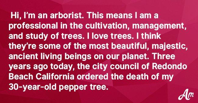 Elderly man gets epic revenge after city forces him to cut down his beloved tree