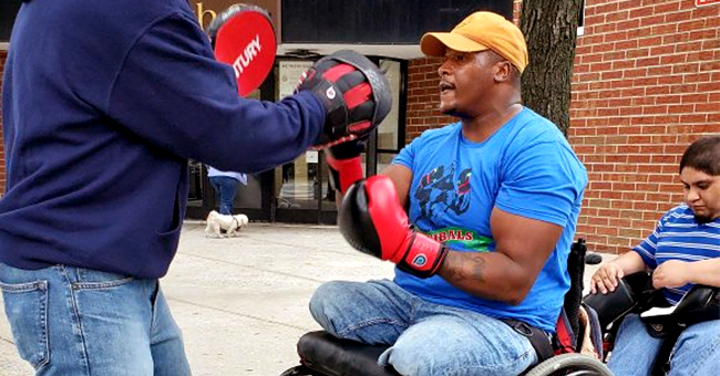 Aspiring Marine Donahue Fields Lost His Legs at 19 but He Now Teaches People with Disabilities How to Box