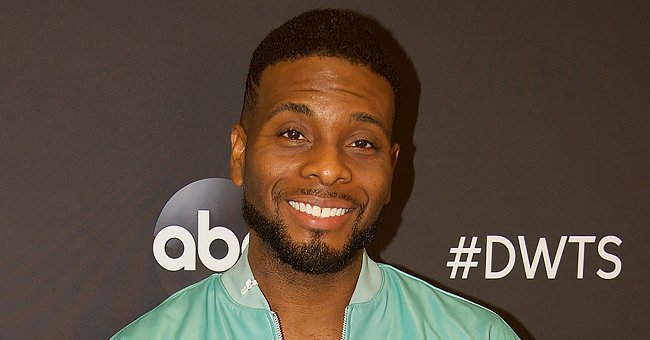 Kel Mitchell Steals Hearts with Photos of Newborn Son Honor with a Little Laptop & in a Bucket