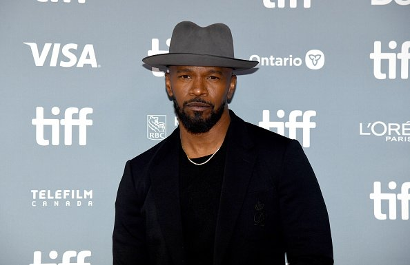 """Jamie Foxx at the """"Just Mercy"""" press conference during the 2019 Toronto International Film Festival on September 07, 2019   Photo: Getty Images"""