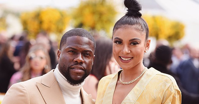 Kevin Hart Melts Hearts Showing His Cute Daughter Kaori Mai Smiling with Bows on Her Ponytails