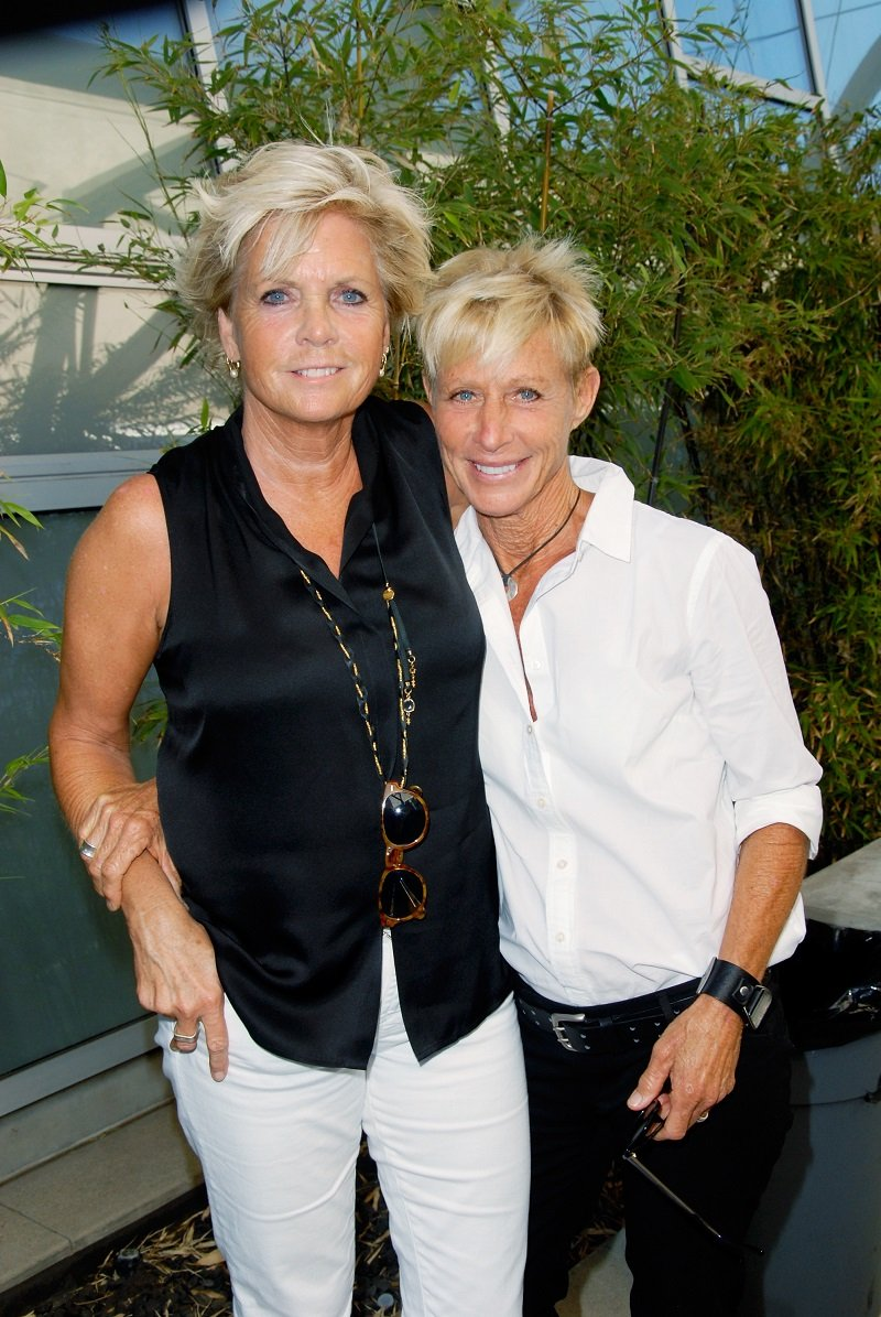 Meredith Baxter and her partner, Nancy Locke, on June 24, 2012 in Los Angeles, California | Photo: Getty Images