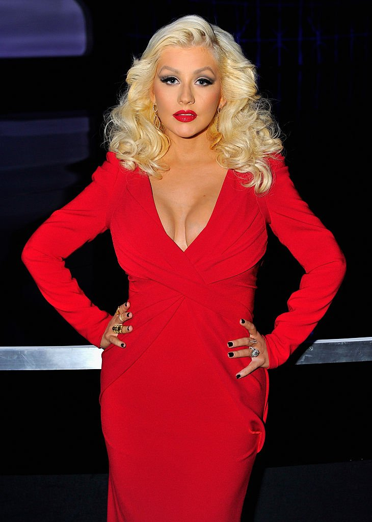 Christina Aguilera attends the Breakthrough Prize awards ceremony at NASA Ame Research Center on November 9, 2014 in Mountain View, California.  |  Photo: Getty Images