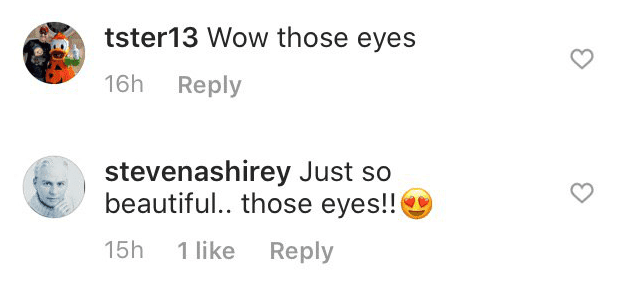 More fan comments on Rachel's post | Instagram: @rachellynnmatthews