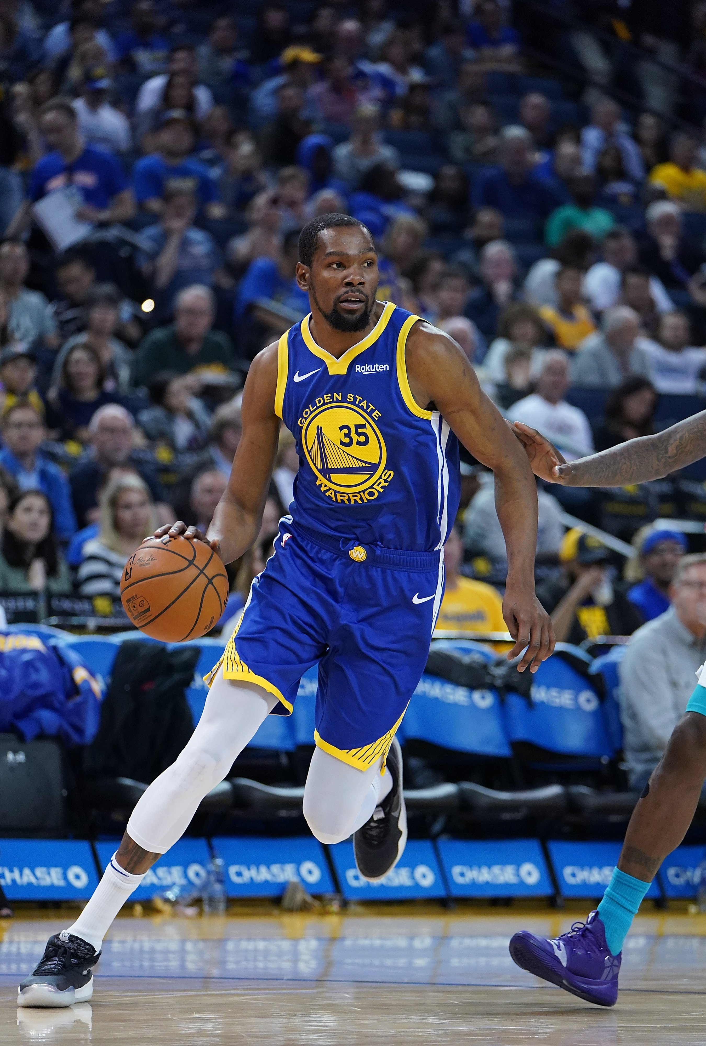 Kevin Durant in action, Basketball player   Photo: Getty Images