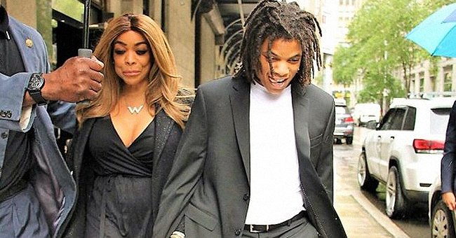 Wendy Williams en compagnie de son fils Kevin Jr. l Source : Getty Images