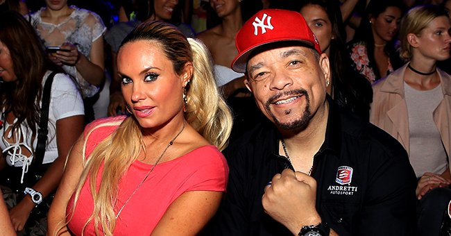 Ice-T's Wife Coco Puts Her Curves on Display in Pink Top & Pants While Working Out in New Pics