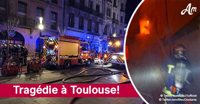 """Toulouse: des photos terrifiantes du feu qui a fait 22 blessés dont 2 en """"urgence absolue"""""""