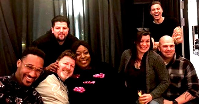 Loni Love, Boyfriend 'Uncle James' & Friends Celebrate New Years Eve Together in Photo