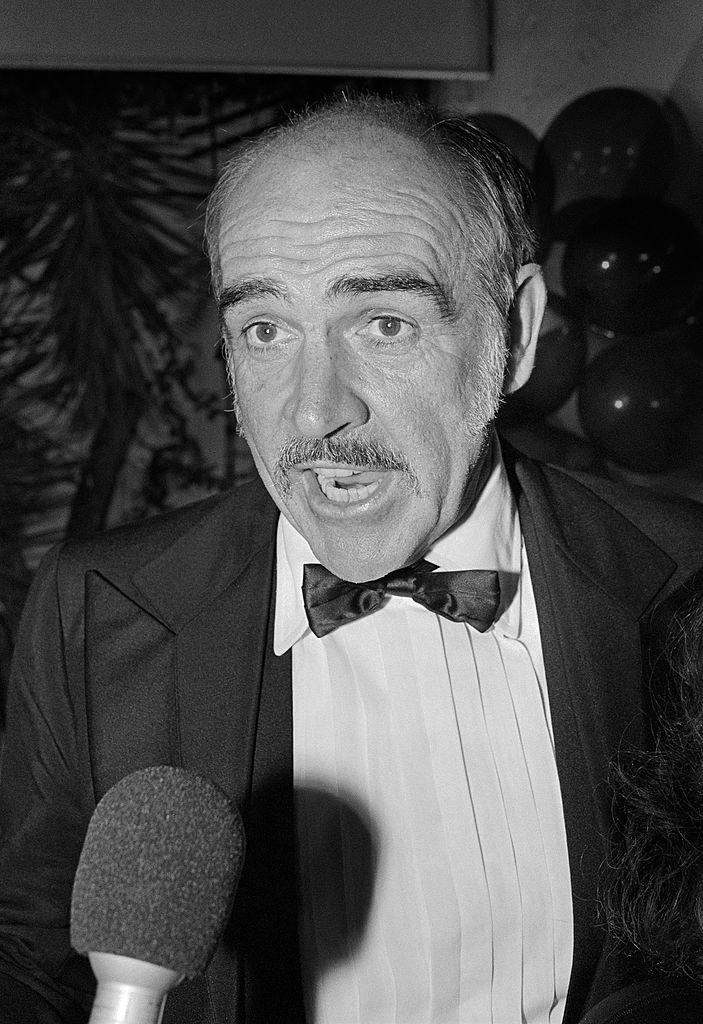 Le comédien Sean Connery en 1989. l Source : Getty Images
