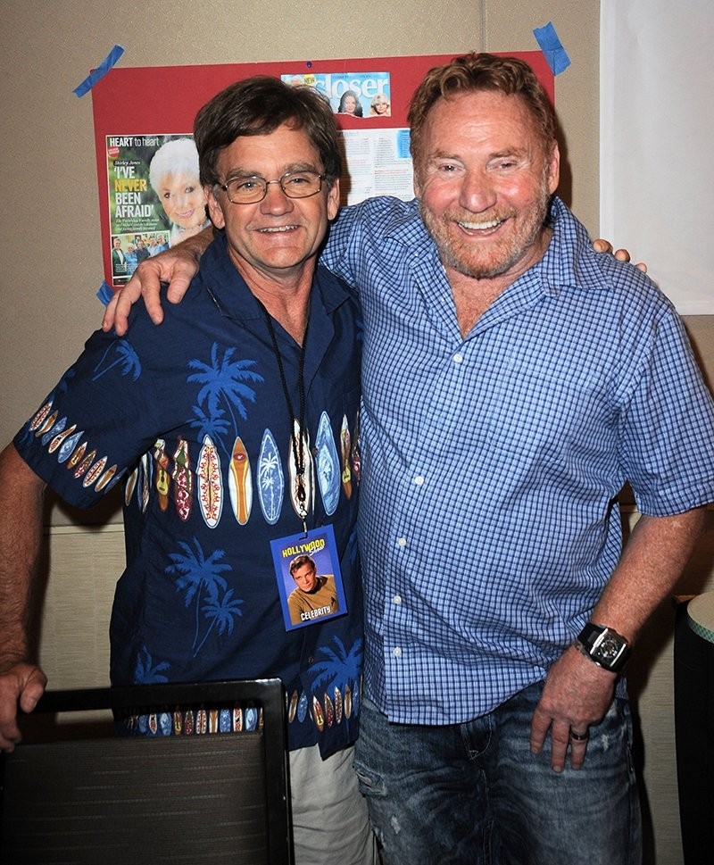 Brian Forster and his former co-star Danny Bonaduce. I Image: Getty Images.