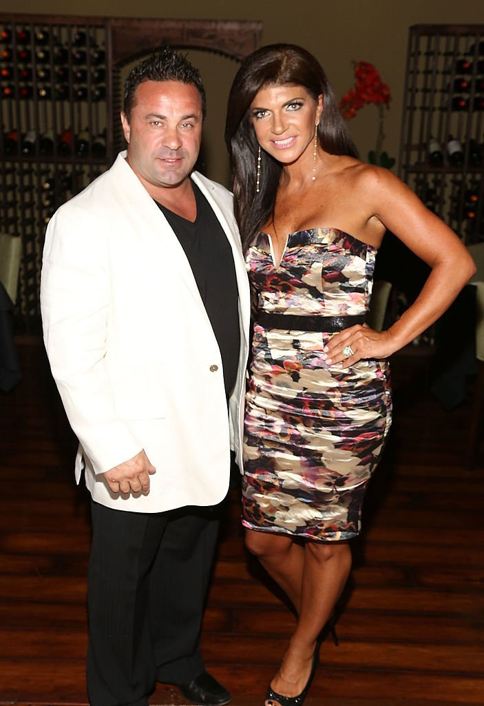 "Joe Giudice and Teresa Giudice attends the ""Real Housewives Of New Jersey"" Season Six Premiere Party 