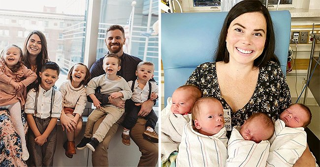 Pennsylvania Couple with 5 Children Found Out They Were Expecting Quadruplets